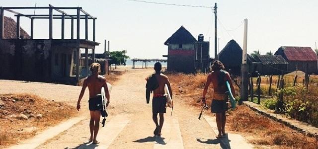 La Ticla かわいいサーフビレッジ a little surf town with beautiful waves メキシコ 6