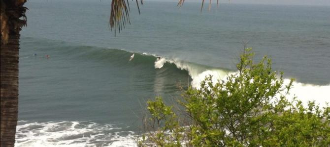 Las Flores/Punta Mango Barrel wave surf resort レオンサーフリゾート